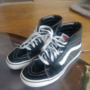 Black High Top Vans (Old Skool)